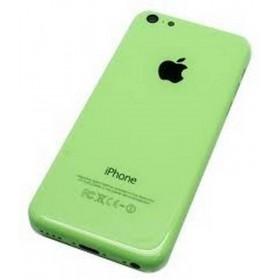 tapa carcaça traseira Completa para iphone 5c em cor Verde