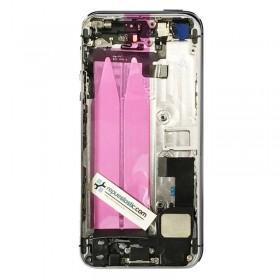 tapa carcaça traseira Completa para iPhone 5s cor Preto