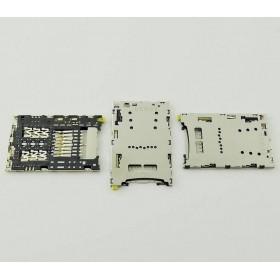 Leitor de cartão SIM e SD para Sony Xperia Z5, E6603, E6653