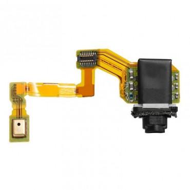 conector de audio jack con micrófono para Sony Xperia Z5, E6653 / E6603, Z5 Dual, E6633