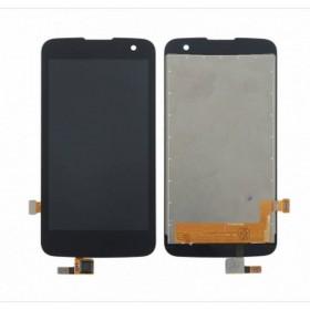 Pantalla completa sin marco negra para LG K4, K120E