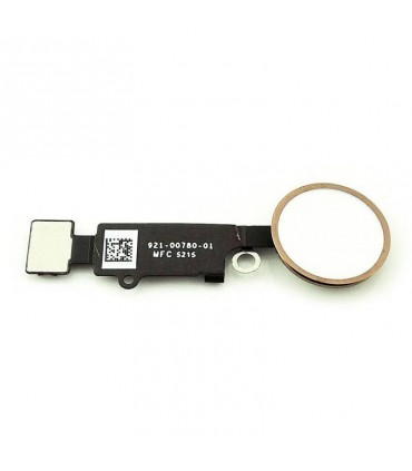 Botón home dorado para Apple iPhone 7/ 7 Plus