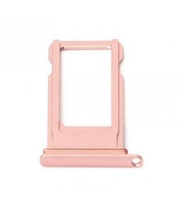 Bandeja SIM rosa dorada para iPhone 7G