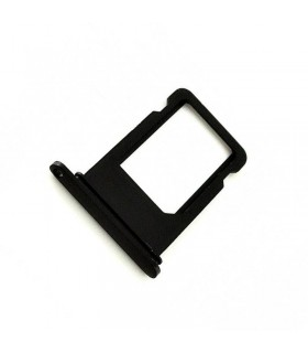 Bandeixa SIM Preto brillante para iPhone 7 Plus