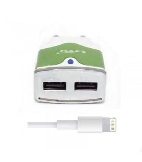 Carregador dual carrega rapida lightning para Iphone