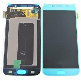 Ecrã completa Samsung Galaxy S6 G920F Azul claro ORIGINAL