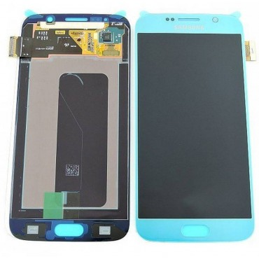 Pantalla completa Samsung Galaxy S6 G920F Azul claro