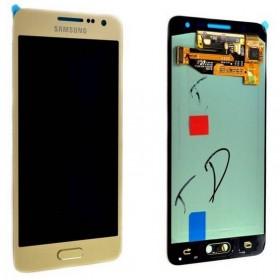 Pantalla completa Samsung Galaxy A3 A300F Dorada Original