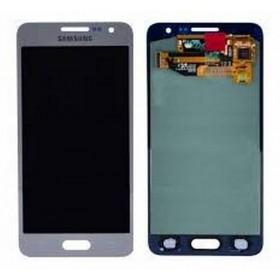 Pantalla completa Samsung Galaxy A3 A300F Gris Plata