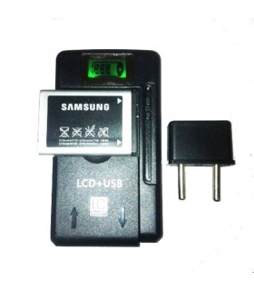 Cargador universal bateria moviles con LCD