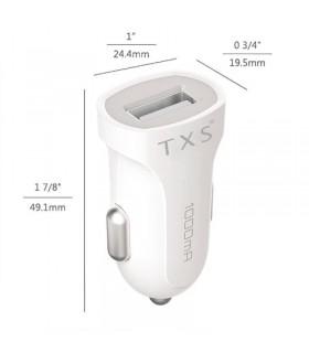 Cargador TXS coche Micro USB para Android