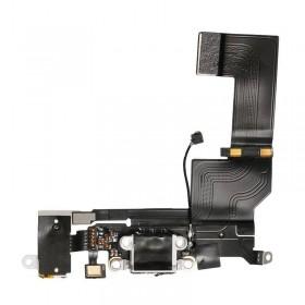 conector de carga y auricular iphone SE blanca