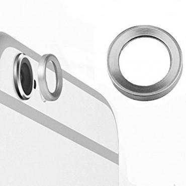Lente de la cámara trasera para Iphone 6, 6s Plata