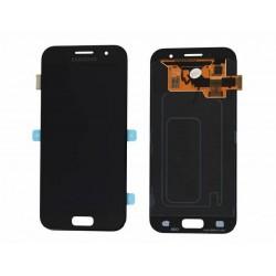 Pantalla completa (LCD/display + digitalizador/tactil) para Samsung Galaxy A3 (2017), A320F original negra