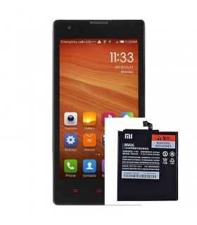 Tapa de Bateria Carcasa negra Original Xiaomi M2 M2S MI2