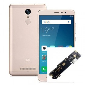 Reparaçao conetor de carrega de Xiaomi Redmi Note 3 Pro