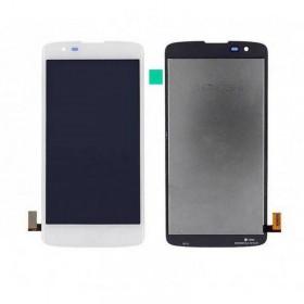Pantalla LCD Display + Tactil sin marco para LG K8 K350N - Blanca