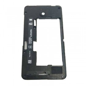 Carcasa intermedia para Nokia Lumia 630 635 Negra