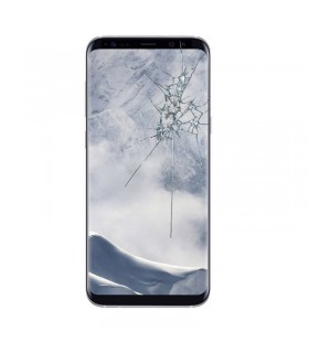 Reparaçao Ecrã Original Samsung S8 G950 Prata