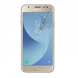 Reparacion pantalla Original Samsung J3 2017 J330F dorado