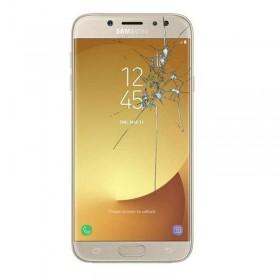 Reparacion pantalla Original Samsung j7 2017 j730F dorado
