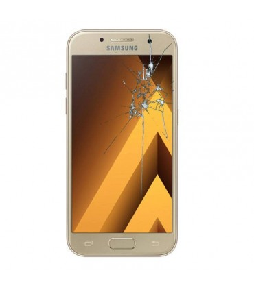 Reparacion pantalla Original Samsung A3 2017 A320 Dorada