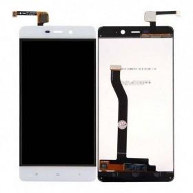 Pantalla completa (LCD/display + digitalizador/táctil) Blanca para Xiaomi Redmi 4 Pro