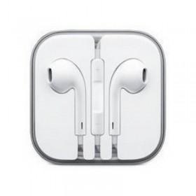 Manos libres con auriculares estreo, micrófono y control de volumen para iPhone