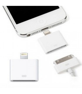 Adaptador para iPhone 5 de 30 pines a lightning