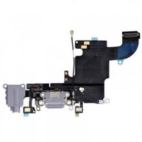 Flex conector de carga mas Micro iPhone 6S Gris