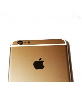 Carcaça traseira para iPhone 6S plus- Dorada