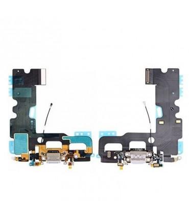 Flex con conector de Carga, Datos, Antena y Microfono para iPhone 7 - Blanco