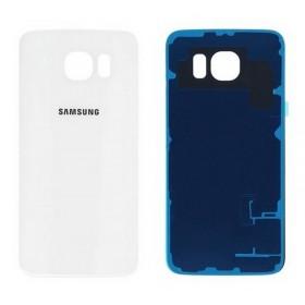 Tapa Samsung Galaxy S6 i9600 SM-G920 blanca