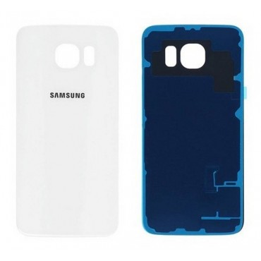 Tapa Samsung Galaxy S6 Edge SM-G925 Blanca