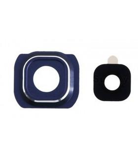 Embellecedor de la Cámara Trasera con lente Samsung Galaxy S6 G920F Negro