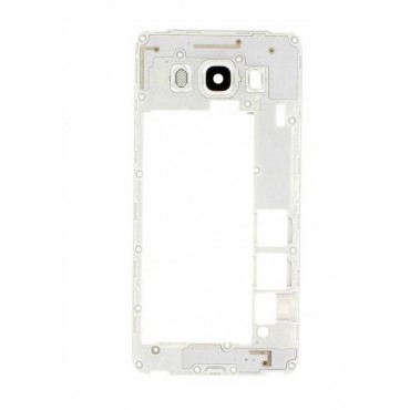 Carcasa Intermedia Samsung Galaxy J5 (2016) SM-J510F -Blanca