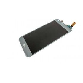 Pantalla LCD Display , Tactil para LG X Cam K580 - Gris -Azul