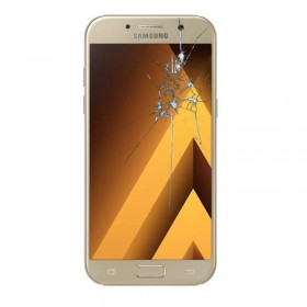 Reparaçao Ecrã Original Samsung A5 2017-A520F dourada
