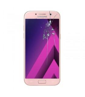 Reparaçao Ecrã Original Samsung A5 2017-A520F rosa