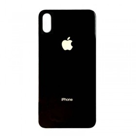 Tapa trasera para iPhone X negra