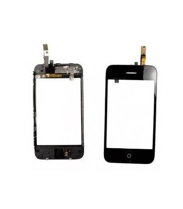 iPhone 3GS marco de pantalla tactil con altavoz y boton home