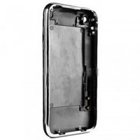 carcasa trasera negro con marco metalico iphone 3GS de 8GB
