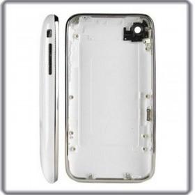 carcasa trasera BLANCA con marco metalico iphone 3GS de 16GB