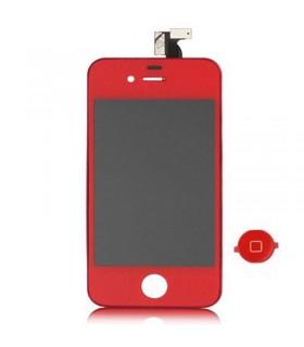 pantalla completa iphone 4s roja