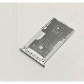 Bandeja de Tajeta SIM y SD Xiaomi Redmi 4 / Redmi 4 Pro - Blanca