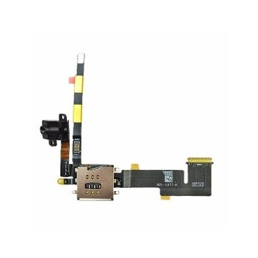 Cable Flex Audio Jack + Lector Sim Apple iPad 2 (Version 3G)