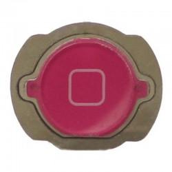 Botón de menú home para iPod Touch 4th generación Rosa