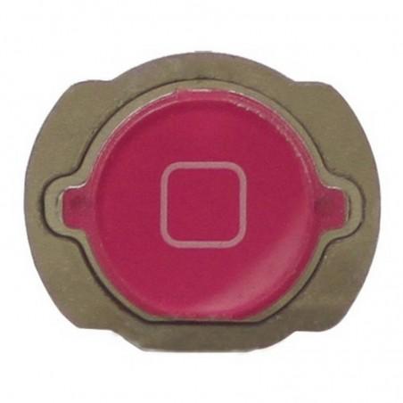 Botão de menú home para iPod Touch 4th generación Rosa
