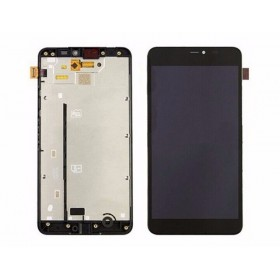 Pantalla completa LCD Display + Tactil con Marco Nokia Lumia 640 XL - Negra
