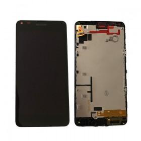 Pantalla completa LCD Display + Tactil con Marco Nokia Lumia 640 - Negra
